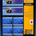 unpublished theme for theelusivefish.com circa 2009